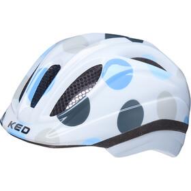 KED Meggy II Trend Casque Enfant, dots deep blue